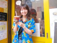 アリイちゃんちのタピオカと当店近くのヘアサロンのスタイリストさん。可愛らしい常連さんb01